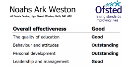 Rated Outstanding by Ofsted